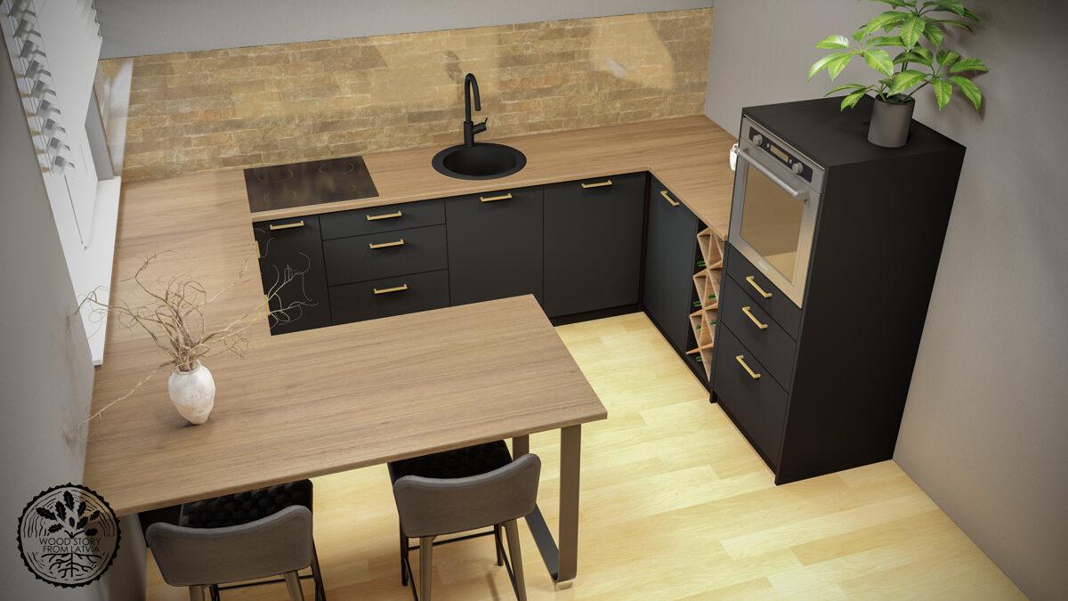 Virtuvju izgatavošana